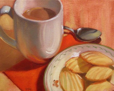 Coffee& Madeleines